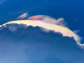 宜蘭天空現罕見火彩虹!絕美奇觀網驚嘆