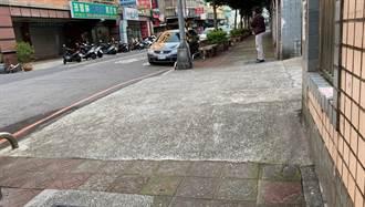 樹林文林國小周邊人行道殘破 政府斥資千萬改善