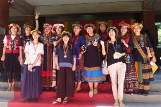 中山南島民族社發中心揭牌 重現傳統儀式