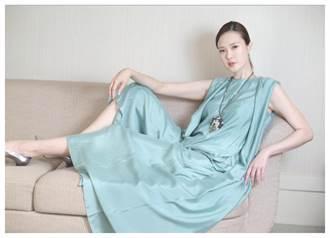 吳品萱重返時尚 美膚襯JHENG珠寶  光采奪目