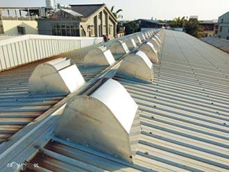 風碩自然通風設備 高效排熱、省電費