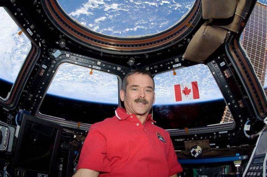 2020ABS亞洲區塊鏈高峰會主講者太空人克里斯. 哈德菲爾( Chris Hadfield)。(主辦單位提供)