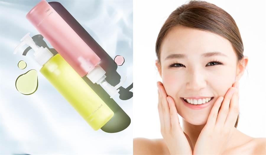 ORBIS澄淨卸妝露推出夏日限定版,天然植萃精華呵護曬後肌膚,清爽水感卸妝膚觸柔嫩透亮。(示意圖/shutterstock提供、品牌提供)