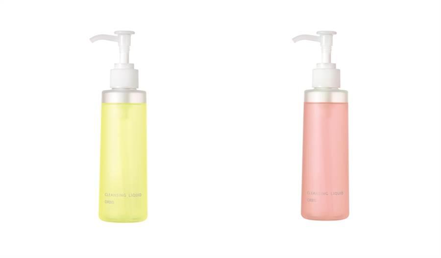 左:限定款澄淨卸妝露#日向,右:限定款澄淨卸妝露#茜空。(圖/品牌提供)