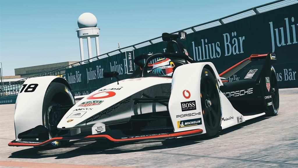 Formula E 電動方程式「Race at Home Challenge」挑戰賽 最終回