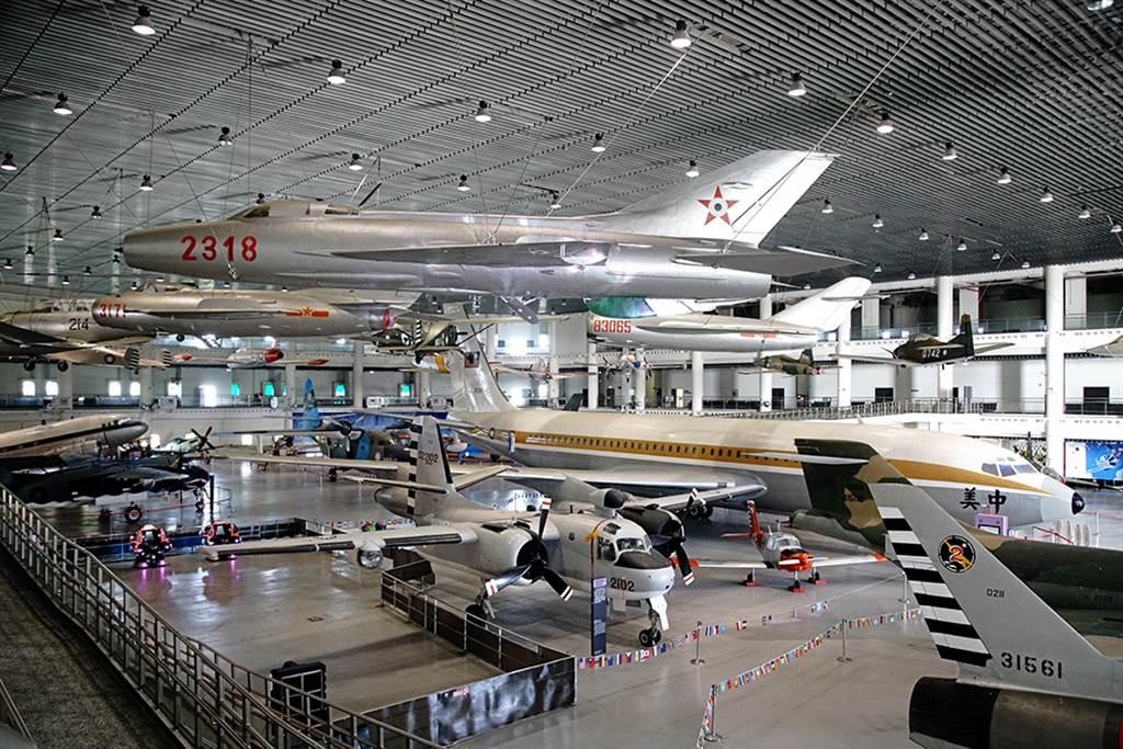 岡山的航空教育展示館可以看到空軍珍貴軍機。(圖片提供/Mook)