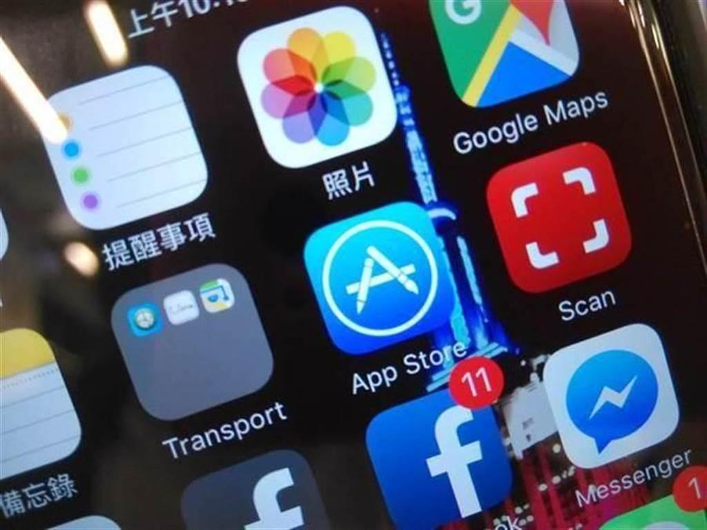蘋果公布App Store 生態系統於 2019 年促成超過 5,000 億美元商業交易。(黃慧雯攝)