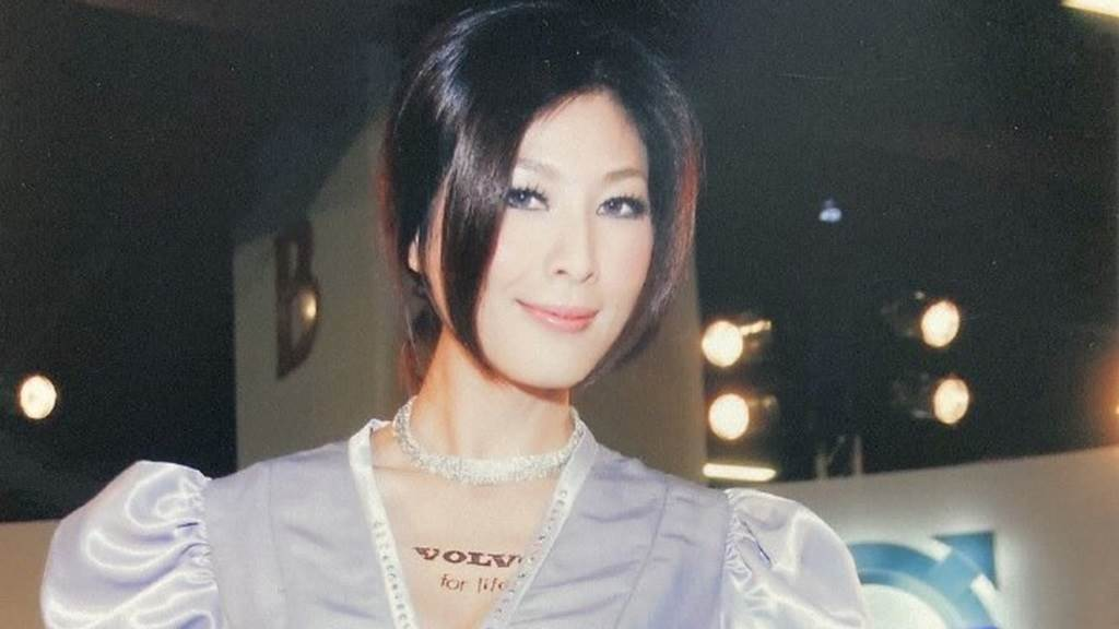 左永寧当年是台湾美胸皇后。(图/微博@左永寧)