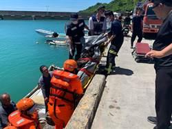 小琉球杉福漁港傳潛客1死1失蹤 死者疑為韓籍遊客