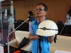 市議員為警察爭取安全帽汰舊換新    警察局:6月底辦理安全帽採購