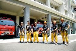 高雄特搜隊 每天的訓練都是為救援做準備