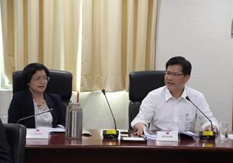 爭取建設經費 王惠美偕藍綠立委、議員拜會林佳龍