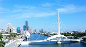 最美新地標「大港橋」!台灣第一座水平旋轉橋