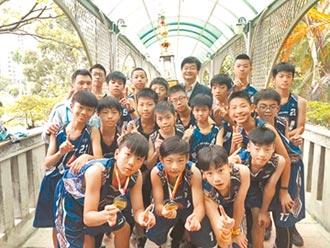 台北博愛國小籃球隊 教育盃首次奪冠