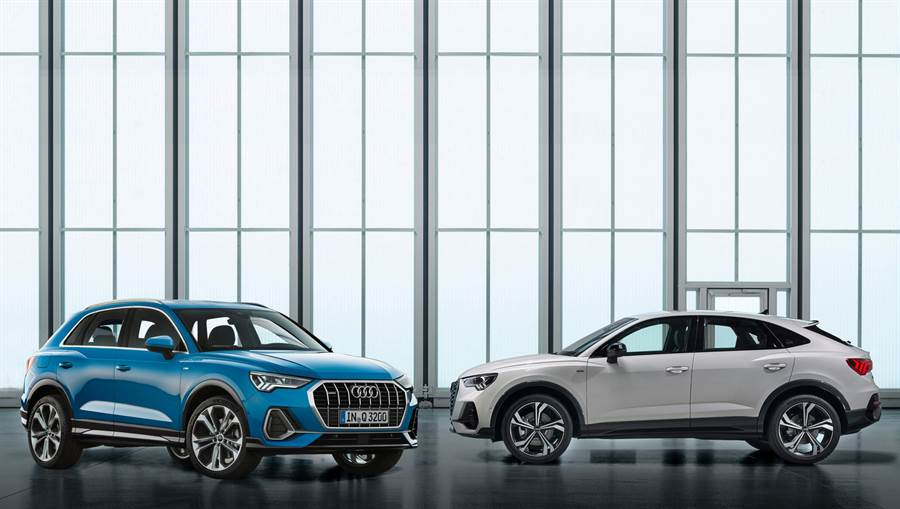 The new Audi Q3   Q3 Sportback率性上市