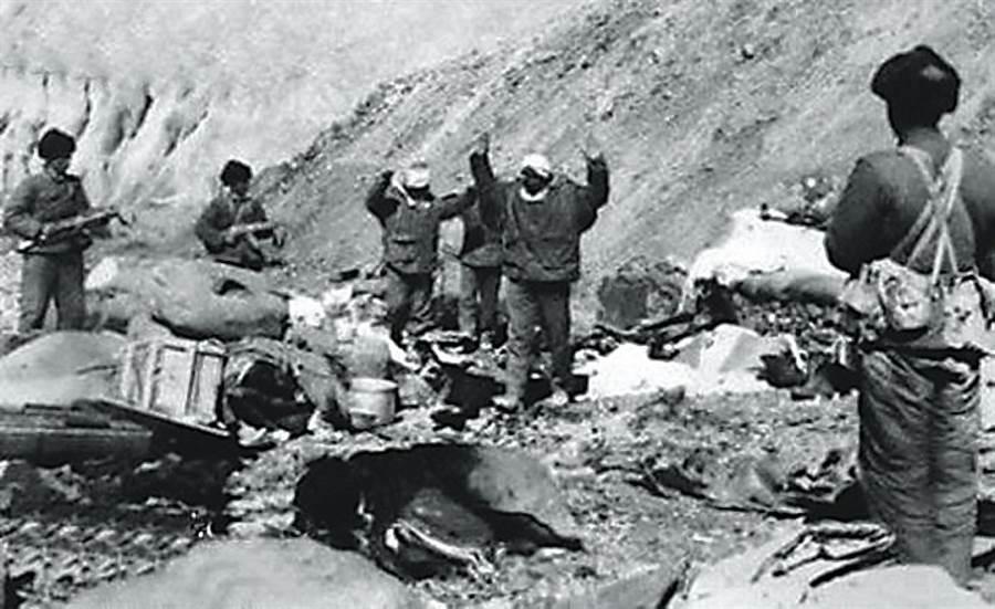 1962-63中印邊界戰爭。