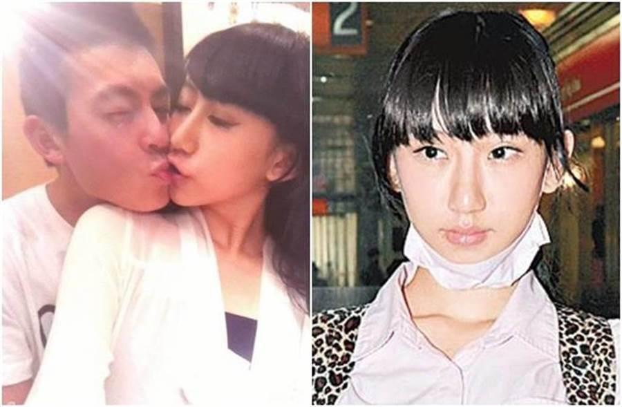 謝芷蕙因和陳冠希一吻成名。(圖/翻攝自東網)