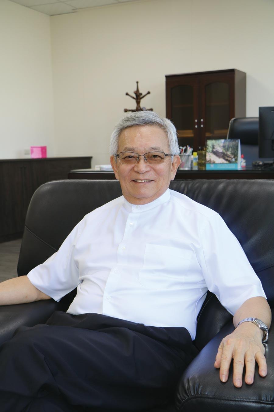 華豐橡膠董事長沈國榮。圖/劉朱松