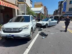 行經路口未減速 女騎士遭小客車撞飛1層高重傷