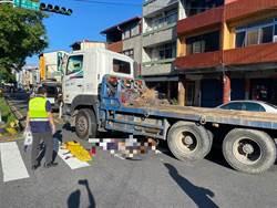 南投女國中生遭拖板車撞 上學中途慘死