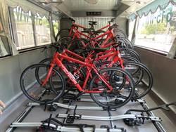 國內單車旅遊升溫 國光打造首輛專用巴士