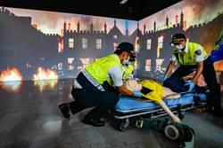 救災能量升級 模擬救護訓練教室啟用