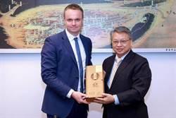 中市建設受矚目 英國副代表偕英商拜會覓投資商機