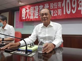 隆大總案量逾200億 董座陳武聰:成交明顯加速