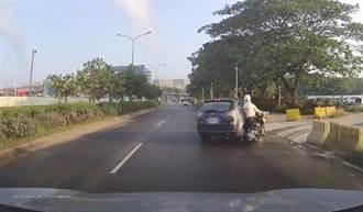 台南市外環道路屢發生死亡車禍 交通局教導民眾「防禦駕駛」