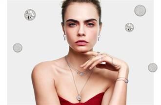 超模卡拉優雅詮釋 2020 ROSE DES VENTS 羅盤玫瑰珠寶系列