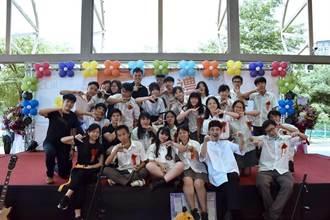 樟樹國際實中教師製歌拍MV 贈首屆畢業生