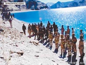 陸印邊界衝突 兩軍數十人死傷