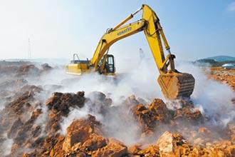 陸挖土機熱銷 基建投資修復