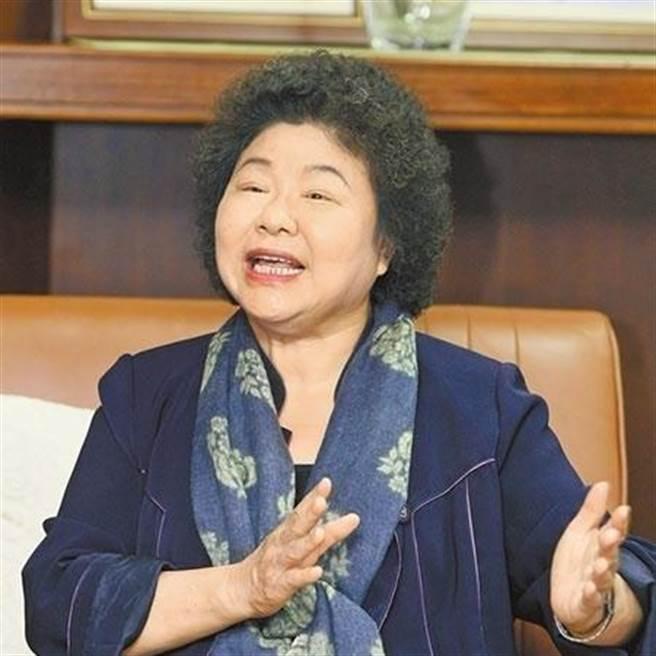 前總統府秘書長、前高雄市長 陳菊。(圖/本報資料照)