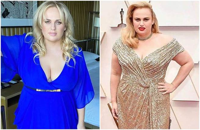 女星瑞贝尔威尔森半年时间减重22公斤。(图/rebelwilson IG)