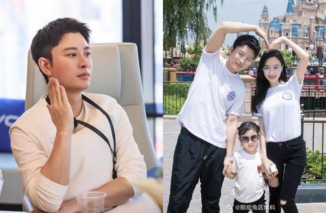 賈乃亮、李小璐去年宣布離婚。(圖/翻攝自賈乃亮工作室、鵝組兔區爆料微博)