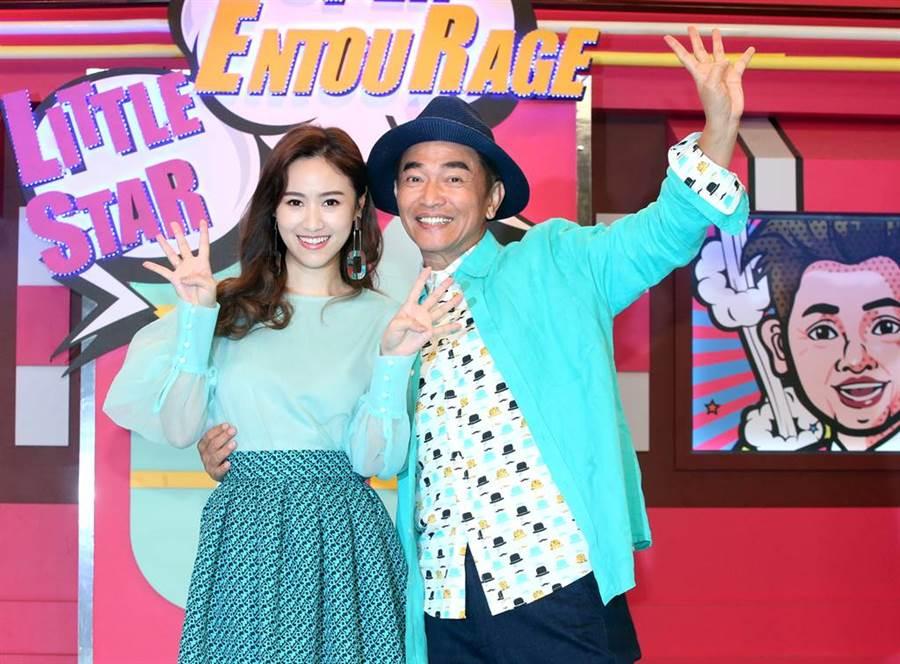 吳宗憲、吳姍儒是演藝圈著名的父女檔。(圖/本報系資料照片)