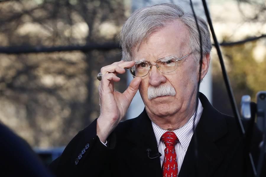 川普政府對美國前國安顧問波頓提起訴訟,試圖阻止他出書回憶錄。圖為波頓。(美聯社)