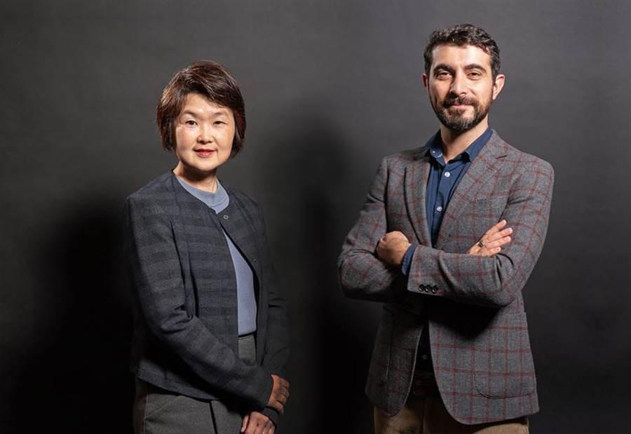 Appier新任企業業務資深副總Michelle Wong(左)與Appier全球業務資深副總Alban Villani(右)。圖/Appier提供