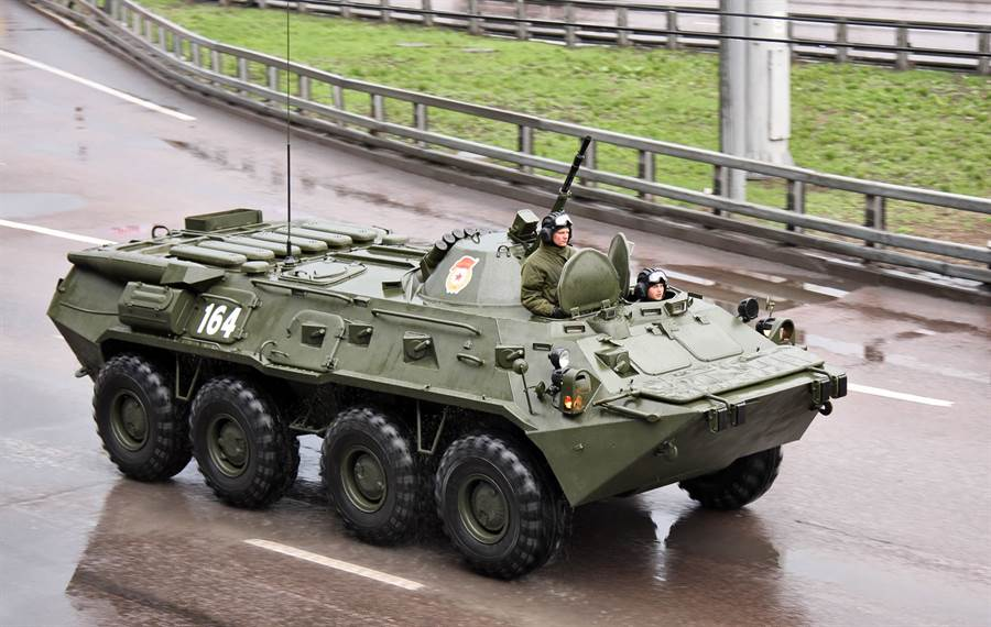 BTR-82A裝甲車。(圖/俄羅斯陸軍)