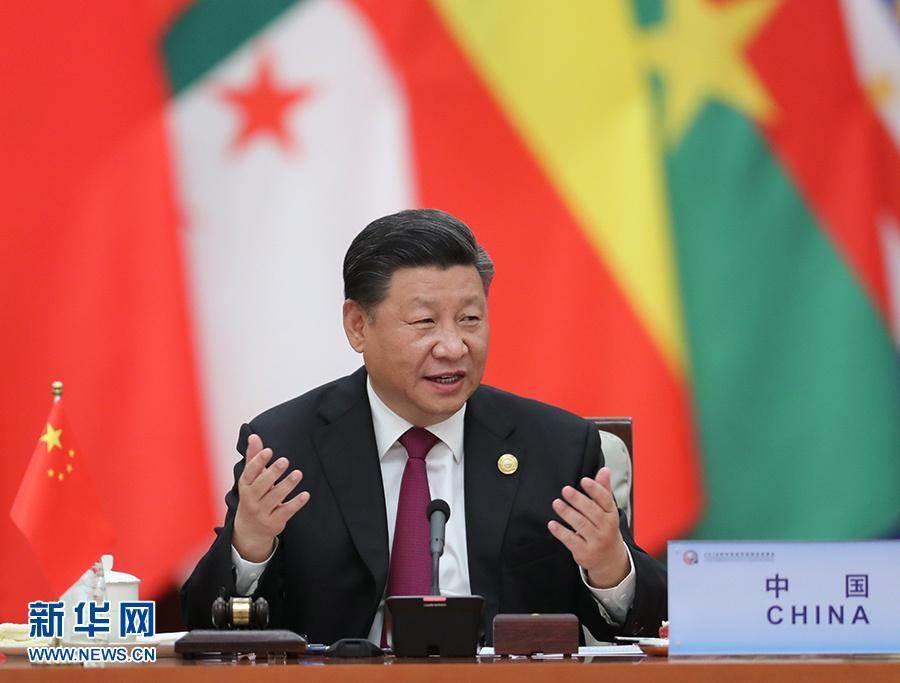 大陸國家主席習近平17日在中非團結抗疫特別峰會發表演講。圖為2018年的中非論壇。(新華社)