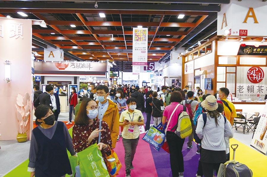 會展解禁,業者對第三季營收樂觀。圖/台灣連鎖加盟促進協會提供