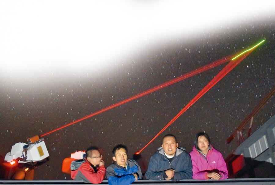 墨子號進行星地對接實驗。(中新社資料照片)