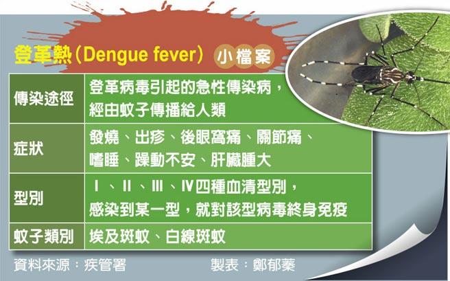 登革熱(Dengue fever)小檔案