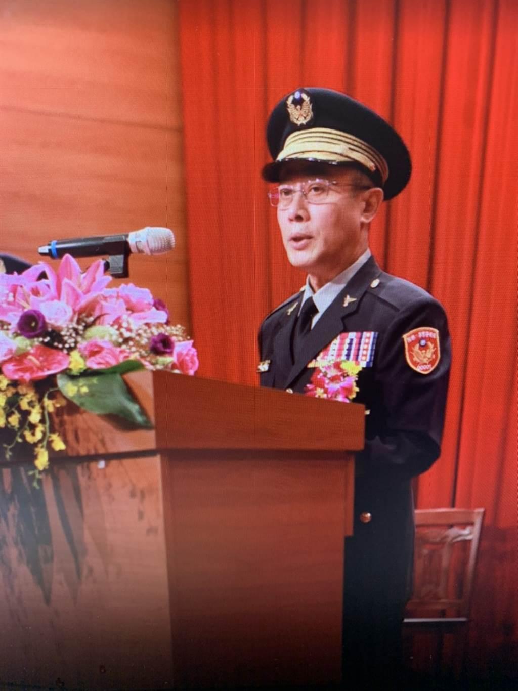 警政署主任秘書鍾國文陞任台灣警察專科學校校長。(翻攝照片/林郁平台北傳真)