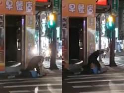 男酒後失控躺街頭臉遭啪啪啪 警及時救援竟是鬧劇