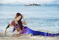 人間性感尤物!郎朗混血嫩妻海邊解放 穿薄紗泳裝好辣
