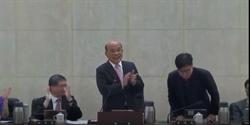 陳其邁告別政院  蘇貞昌喊話:快回來