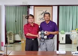 台南市消防局獲贈防毒面具一批 救災更有保障