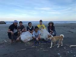 田麗淨灘致力環保 樂當海邊「管理員」
